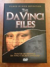 ☀️ The Da Vinci Files DVD 3-Disc Set & Book English Spanish Audio Tom Hanks MINT