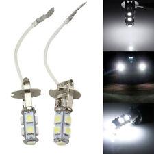 2PCS H3 9*5050 LED Fog Driving Car Head Light Lamp Bulb White Super Bright New