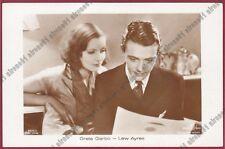 GRETA GARBO 77 LEW AYRES - ATTRICE ACTRESS ACTOR CINEMA MOVIE Cartolina FOT.