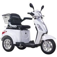 3 ruote per scooter elettrico 48V 500W bianco Triciclo 8 MPH/16 miglia orarie