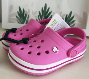 Crocs Toddler Girl Size 8 NWT CROCS GLOGS TODDLER GIRL ALL SIZES AVAILABLE