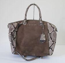 Michael Kors Riley Suede Large Satchel Shoulder Handbag Handbag