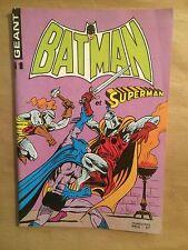 BATMAN ET SUPERMAN GEANT (Sagedition) - T11