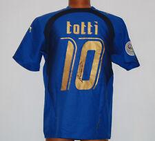 Maglia totti italia mondiale germany 2006 world cup 3 stats puma no match worn