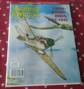 Strategy & Tactics Magazine Decision Games Unpunched #227 China -Burma-India