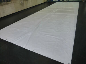 Abdeckplane LKW Plane PVC Folie 4m x 2,50m ca 620 gr//qm Braun B-ware 3,20€ q//m