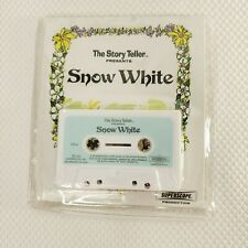 Vintage 1973 Superscope Story Teller Snow White Cassette Tape Book Reader