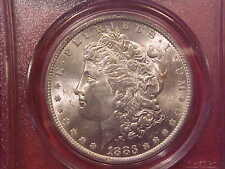 1883 O MORGAN DOLLAR - PCGS MS63 - (G565)