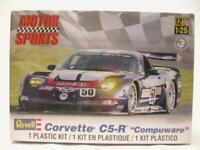 1/25 Revell Corvette C5-R Compuware Le Mans Race Car Plastic Model Kit NEW 4941