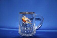 VINTAGE PHEASANT RETRO PINT GLASS TANKARD English Made.