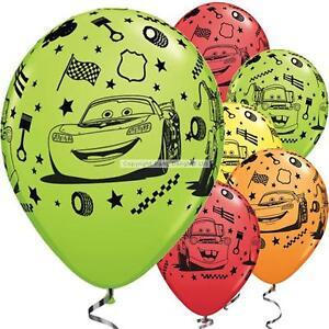 DISNEY CARS - CHILDREN'S BALLOONS - Choose quantity - BIRTHDAY PARTY DECORATIONS