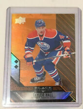 14-15 Black Diamond Double Diamond Orange Taylor Hall Edmonton Oilers