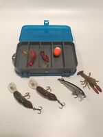 Fishing Lures PLANO Mini Magnum Double Sided Tackle Box Vintage