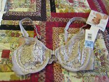 BNWT Warner's SHEER HEAVEN bra size 34B front clasp