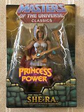 She-Ra MOTUC Masters of the Universe Classics MOTU w/ mailer box