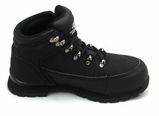 MENS WORKFORCE SAFETY STEEL TOE CAP BOOTS LEATHER SHOES WORK TRAINERS SZ 5-13