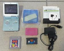 Nintendo Game Boy Advance SP & neuen Gehäuse & neuen Ladekabel & 2 Spiele >TOP