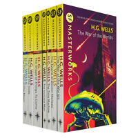 H G Wells 7 Books Young Adult Collection Set By Herbert George Wells