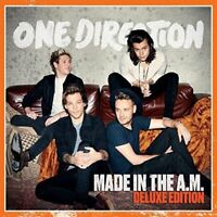 New: ONE DIRECTION- Made in the A.M. Deluxe CD (w/4 Bonus Tracks!)