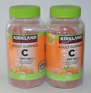 360 Kirkland Signature Adulte Gummies Vitamine C 250MG Mâcher Fruit Bonbon