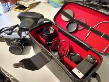 Rolleiflex SL350 Chrome mit 3 Objekte und zwei Blitz Made in Germany