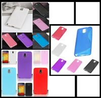 Slim TPU Silicone Gel Soft Skin Case Cover For Samsung Galaxy Note 3