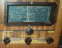 Clear Control panels for HMV 886 mantle set valve radio. Chassis number B1348