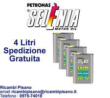 4 LITRI LT OLIO MOTORE AUTO FIAT  SELENIA WR 5W40