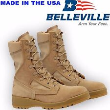 Genuine US Army Belleville 340 Desert Hot Weather Flight/Combat Boots Faulty