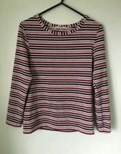 Women's Pull & Bear Top Sparkly Striped Stripy Festival  Party Size Medium M