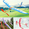 Useful Glider Rubber Band Elastic Powered Flying Plane Airplane Fun Model Toy