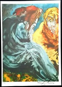 Salvador Dali - Lithographie Limitierte Auflage Nr. 150/350