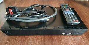 Panasonic DMP-BD79 Blu-ray Player Remote HDMI HDMI Power Cables Fully Working