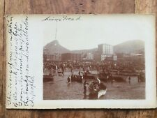SOUTH AFRICA - Fishermen in Capetown - real individual photo - 1900`s