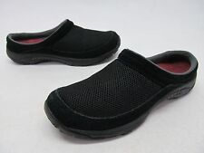 Merrell Black Mesh/Suede Mules Womens sz 7
