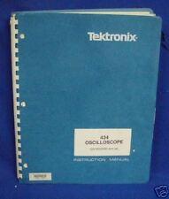 Tektronix 434 Oscilloscope Instr Manual Withschemtics