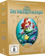 Arielle die Meerjungfrau 1-3 Trilogie DVD mit Originalstimme von 1989