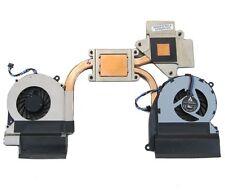 New  HP Envy 15 15-3000 15-3200 Fan Heatsink Dual Fan 690006-001