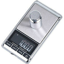 Small Mini Pocket Digital Scale 0.1g x 1000g Weight Jewelry Gold Silver Coin OZ