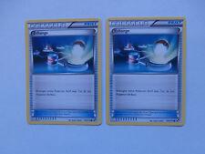 Carte Pokemon Echange Noir et Blanc x 2 !!!