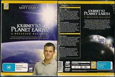 JOURNEY TO PLANET EARTH HOSTED BY MATT DAMON NEW 2 DVDS