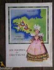 RARE Catalogue Publicitaire Poupée de Bretagne LE MINOR Ill. Jean-Adrien MERCIER