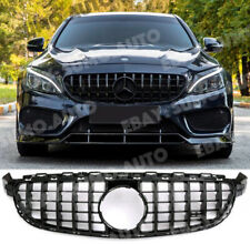 Mercedes C63,c63s c205 w205 AMG GT R,PANAMERICANA Grille,full gloss black SERIES