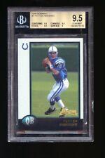 New listing 1998 Bowman: Peyton Manning BGS 9.5 GEM MINT