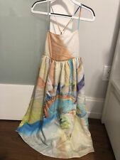 Stella McCartney Kids Pear Cross-Back Watercolor-Print Dress!!!!! Size 12