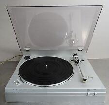 vintage turntable - Plattenspieler belt drive record player Sharp RP-31H