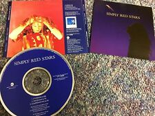 SIMPLY RED STARS CD SINGLE USA DJ PROMO EDITION FROM COLLECTION