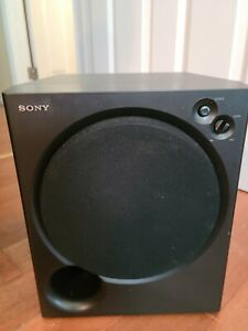 """Sony SA-WM200 Magnetically Shielded Active Powered 8"""" Subwoofer"""