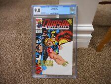 Quasar 40 cgc 9.8 1st appearance Paragon as Kismet Wolverine Infinity War Mint