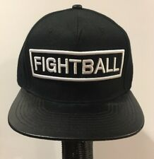 FIGHTBALL Boxing MMA Black TWNTY TWO XX Baseball Cap Hat